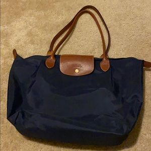 Longchamp lepliage large tote